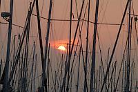- tourist harbor of Marina di Ravenna....- porto turistico di Marina di Ravenna..