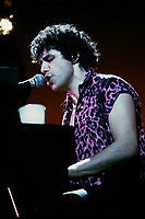 Montreal<br />  (QC) CANADA - April 7,  1984  File Photo    - Julien Clerc in concert