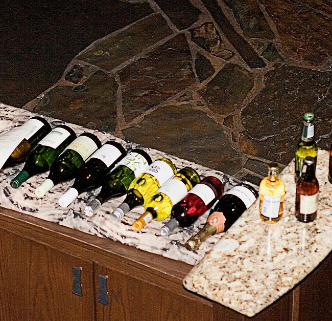 Wine Display, Boma Restaurant, Animal Kingdom Lodge, Disney's Animal Kingdom, Orlando, Florida