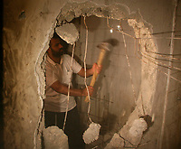 Hamas's Executive Force destroys a cell, formerly controlled by Palestinian President Mahmoud Abbas's security forces, in Gaza September 16, 2007