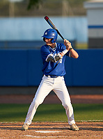 IMG Academy Ascenders Mac Moyer (25) bats during a game against the Montverde Academy Eagles on April 8, 2021 at IMG Academy in Bradenton, Florida.  (Mike Janes/Four Seam Images)