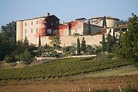 Europe/France/Midi-Pyrénées/81/Tarn/env de Mauriac: le  Château et le vignoble de Gaillac