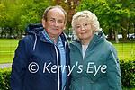 Enjoying a stroll in Muckross Gardens in Killarney on Sunday, l to r: Tim and Ann Boland