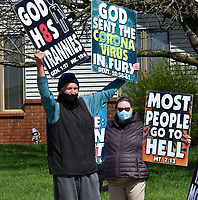 APR 08 Westboro Baptist Church Protest