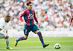 Antonio García Aranda, Tono, of Levante UD in action during the La Liga match between Real Madrid and Levante UD at the Estadio Santiago Bernabeu on 09 September 2017 in Madrid, Spain. Photo by Diego Gonzalez / Power Sport Images