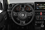 Car pictures of steering wheel view of a 2019 Suzuki Jimny GLX 5 Door SUV Steering Wheel