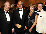 From left: Berdon Lawrence, Hamid Kooros, Rolanette Lawrence and Peter Marzio at the Arts of the Islamic World Gala at the Museum of Fine Arts Houston Friday May 14,2010.  (Dave Rossman Photo)