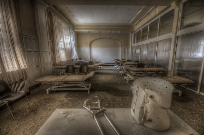 Old physiotherapy school in west Germany