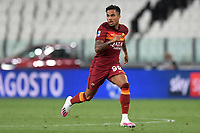 Justin Kluivert of AS Roma during the Serie A football match between Juventus FC and AS Roma at Juventus stadium in Turin (Italy), August 1st, 2020. Play resumes behind closed doors following the outbreak of the coronavirus disease. Photo Andrea Staccioli / Insidefoto