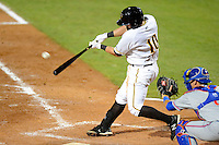 Bradenton Marauders infielder Dan Gamache #10 during a game against the St. Lucie Mets on April 12, 2013 at McKechnie Field in Bradenton, Florida.  St. Lucie defeated Bradenton 6-5 in 12 innings.  (Mike Janes/Four Seam Images)