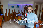 Kevin Tiernan  manager Kitty O'Shea's restaurant happy to be back serving customers on Monday night