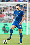 Leicester City FC defender Harry Maguire in action during the Premier League Asia Trophy match between Leicester City FC and West Bromwich Albion at Hong Kong Stadium on 19 July 2017, in Hong Kong, China. Photo by Weixiang Lim / Power Sport Images