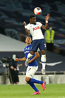 Serge Aurier of Tottenham Hotspur and Richarlison of Everton during Tottenham Hotspur vs Everton, Premier League Football at Tottenham Hotspur Stadium on 6th July 2020