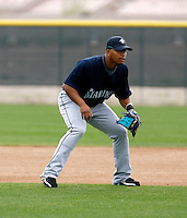 Jose Lopez -  Seattle Mariners - 2009 spring training.Photo by:  Bill Mitchell/Four Seam Images