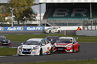 Round 6 of the 2020 British Touring Car Championship. #24 Jake Hill. MB Motorsport accelerated by Blue Square. Honda Civic Type R.