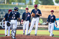 Daniel Tillo (33) of the Naturals up for a rehad assignment for the Royals, pitches against the Travelers, pitched until the second inning at Arvest Ballpark, Springdale, Arkansas, Wednesday, July 14, 2021 / Special to NWA Democrat-Gazette/ David Beach