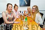 Ciara and Rachel Ryan, Emma Reidy and Méabh McElligott enjoying the evening in Sforno on Saturday.