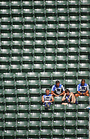 Chelsea FC Coaches view the LA Galaxy during David Beckham's first practice with LA Galaxy at the Home Depot Center in Carson, California, Monday, July 16, 2007.