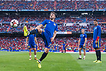 David Villa of Spain warming up during their 2018 FIFA World Cup Russia Final Qualification Round 1 Group G match between Spain and Italy on 02 September 2017, at Santiago Bernabeu Stadium, in Madrid, Spain. Photo by Diego Gonzalez / Power Sport Images