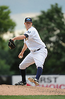 Trenton Thunder pitcher Phil Wetherell (55) during game against the New Hampshire Fisher Cats at ARM & HAMMER Park on June 22, 2014 in Trenton, NJ.  New Hampshire defeated Trenton 7-2.  (Tomasso DeRosa/Four Seam Images)
