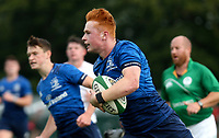 Saturday 5th September 2021<br /> <br /> Ruben Moloney scores during U18 Schools inter-pro between Ulster Rugby and Leinster at Newforge Country Club, Belfast, Northern Ireland. Photo by John Dickson/Dicksondigital