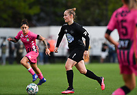 Woluwe's Stefanie Deville (3) pictured during a female soccer game between Sporting Charleroi and FC Femina White Star Woluwe on the second matchday of the 2020 - 2021 season of Belgian Scooore Women s SuperLeague , friday 4 th of September 2020  in Marcinelle , Belgium . PHOTO SPORTPIX.BE | SPP | DAVID CATRY
