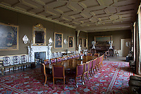Scottish architect, William Burn, extended the house to accommodate a larger dining room