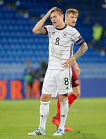6th August 2020, Basel, Switzerland. UEFA National League football, Switzerland versus Germany;  Toni Kroos Germany