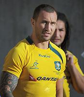 130823 Rugby - Australia Captain's Run