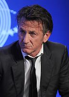 NEW YORK - SEPTEMBER 25:  Sean Penn speaks during the annual Clinton Global Initiative (CGI) meeting on September 25, 2013 in New York City. Timed to coincide with the United Nations General Assembly, CGI brings together heads of state, CEOs, philanthropists and others to help find solutions to the world's major problems<br /> <br /> <br /> People:  Sean Penn<br /> <br /> Transmission Ref:  MNC1<br /> <br /> Must call if interested<br /> Michael Storms<br /> Storms Media Group Inc.<br /> 305-632-3400 - Cell<br /> 305-513-5783 - Fax<br /> MikeStorm@aol.com