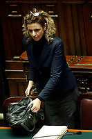 Giulia Grillo <br /> Rome February 13th 2019. Lower Chamber. Ministers of Internal Affairs, of Labour and of Health at the Question Time at the Chamber of Deputies.<br /> Foto Samantha Zucchi Insidefoto