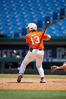 Maxwell Shor (13) of Palm Desert High School in La Quinta, CA during the Perfect Game National Showcase at Hoover Metropolitan Stadium on June 19, 2020 in Hoover, Alabama. (Mike Janes/Four Seam Images)