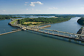Fort Loudon Dam on Tennessee River