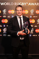 Richie McCaw, representing the All Blacks, winners of Team of the Year Award, at the World Rugby Awards 2015  - 01/11/2015 - Battersea Evolution, London<br /> Mandatory Credit: Rob Munro/Stewart Communications