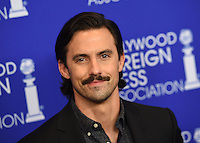 Milo Ventimiglia @ the HFPA Annual grants banquet held @ the Regent Beverly Wilshire hotel.<br /> August 4, 2016