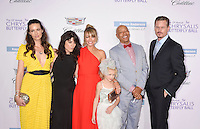 BRENTWOOD, CA - JUNE 11: (L-R) Actresses Liz Carey, Selma Blair, Rebecca Gayheart-Dane, entrepreneur Russell Simmons and actor Eric Dane arrive at the 15th Annual Chrysalis Butterfly Ball at a private residence on June 11, 2016 in Brentwood, California.