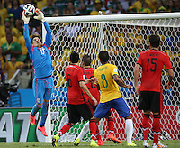 Fortaleza, Brazil - Tuesday, June 17, 2014: Mexico and Brazil played to a 0-0 draw during World Cup group play at Estádio Castelão.<br /> <br /> 17/06/2014/MEXSPORT/ROBERTO MAYA <br />  <br /> Estadio Castelao, Fortaleza  , Ceara , Brasil