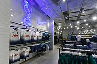 Tottenham Hotspur club shop opens -  23.10.2018