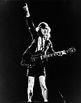AC/DC Angus Young 1983....