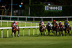 Jockeys riding their horses during Hong Kong Racing at Happy Valley Racecourse on June 27, 2018 in Hong Kong, Hong Kong. Photo by Marcio Rodrigo Machado / Power Sport Images