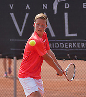 August 6, 2014, Netherlands, Rotterdam, TV Victoria, Tennis, National Junior Championships, NJK,  Stijn Janssen (NED)<br /> Photo: Tennisimages/Henk Koster