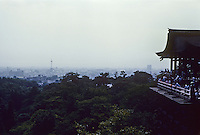 Kyoto: Todai Ji Temple on a smoggy day. Photo '81.