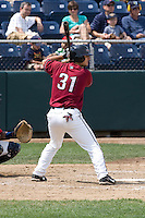 July 6, 2008:  The Yakima Bears' Anthony Smith at-bat during a Northwest League game against the Everett AquaSox at Everett Memorial Stadium in Everett, Washington.