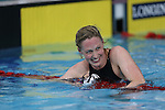 Glasgow 2014 Commonwealth Games<br /> Scotland's Hannah Miley is all smiles after winning gold in the Women's 400m Individual Medley.<br /> Tollcross Swimming Centre<br /> <br /> 24.07.14<br /> ©Steve Pope-SPORTINGWALES