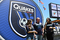 SAN JOSE, CA - JUNE 8: San Jose Earthquakes fans during a game between FC Dallas and San Jose Earthquakes at Avaya Stadium on June 8, 2019 in San Jose, California.