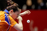 Athelete in action during the ITTF World Team Table Tennis Championship 2014 at the Yoyogi National Gymnasium on May 02, 2014 in Tokyo, Japan. Photo by Alan Siu / Power Sport Images