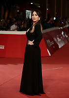 L'attrice italiana Chiara Francini posa sul red carpet di apertura della 13 edizione della Festa del Cinema di Roma, 18 ottobre 2018.<br /> Italian actress Chiara Francini poses on the 13th Rome Film Festival opening red carpet in Rome, October 18, 2018.<br /> UPDATE IMAGES PRESS/Isabella Bonotto