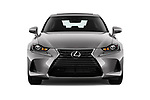 Car photography straight front view of a 2018 Lexus IS 300 4 Door Sedan