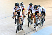 Kirstie James competes in the Women Elite Points race 20km during the 2020 Vantage Elite and U19 Track Cycling National Championships at the Avantidrome in Cambridge, New Zealand on Saturday, 25 January 2020. ( Mandatory Photo Credit: Dianne Manson )