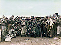 Iraq 1985 <br /> MullazemOmar Abdallah with peshmergas after the battle of Daban <br /> Irak 1985 <br /> Mullazem Omar Abdallah avec un groupe de peshmergas apres la bataille de Daban